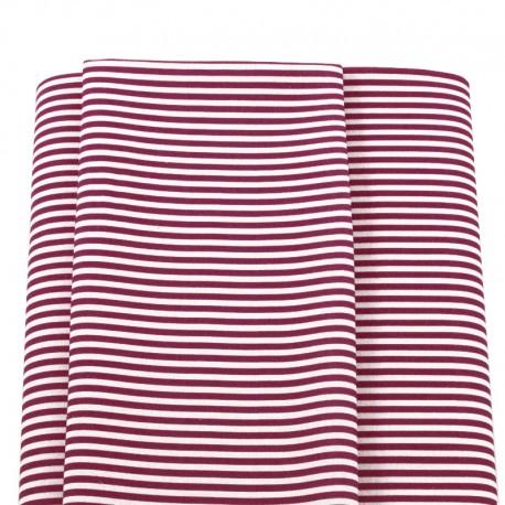 maroon stripes fabric navy sailor