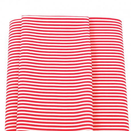 red stripped fabrics navy sailor
