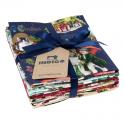 WISHES FAT QUARTER BUNDLE - 6 UDS (PERCAL)