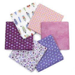 FAT QUARTER SANDY - PACK 6 UDS