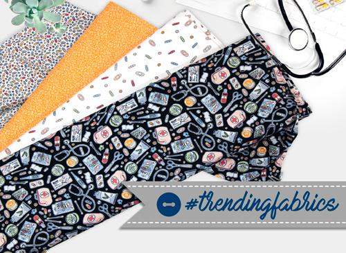 Trending fabrics Indigo Fabrics
