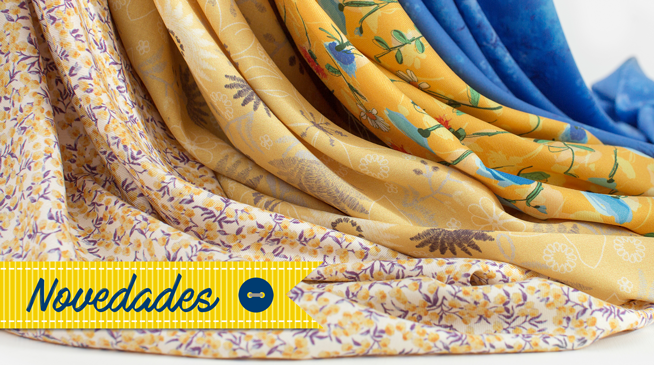 Viella Sensations Indigo Fabrics